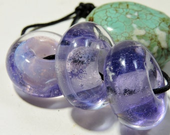 Lampwork Glass Borosilicate Beads PINKS Two Sisters Designs 020517A
