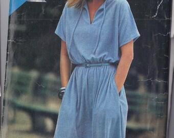 Vintage Dress Pattern -   Patron de robe - 1980s
