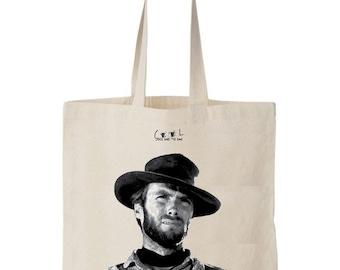 tote bag Clint Eastwood