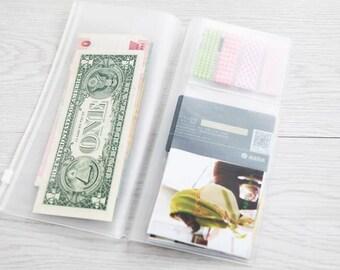 Traveler Notebook Regular Zipmapje
