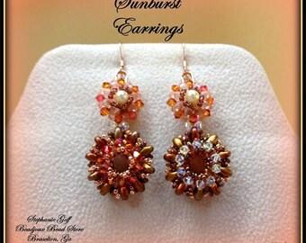 Sunburst Earrings Pattern
