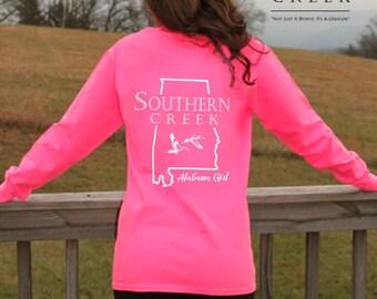 Southern Creek, Alabama Girl Tee