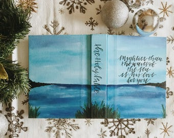 Hand Painted Bible: Beach Theme
