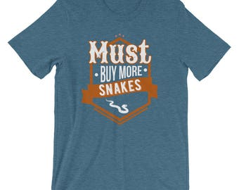 Must Buy More Snakes Animals Hobby T-Shirt