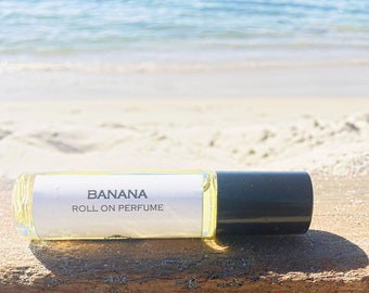 Mother's Day Gift // BANANA || Roll on Perfume || Smells exactly like the Banana fruit || in a spray or roll on perfume