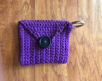 Ring Sling Clip Pouch - Crocheted
