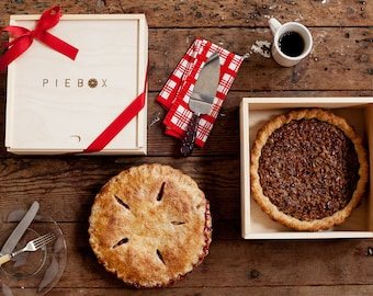 PieBox: Wooden Pie Carrier