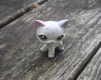 Littlest Pet Shop Custom OOAK LPS Short Hair Cat W/Pastel Jelly Beans