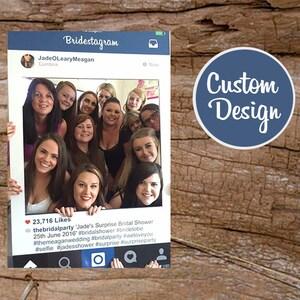 Instagram frame prop, Large Instaframe, Social Media, Custom Design, Wedding