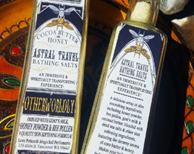 Astral Travel - Bathing Salts - Cocoa Butter & Honey - Love Potion Magickal Perfumerie