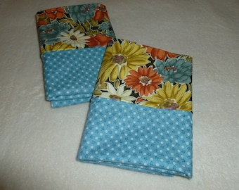 Set of 2 Standard Size Pillowcases