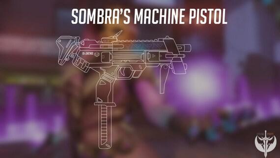 Sombras machine pistol blueprints overwatch from dysaniaprops on sombras machine pistol blueprints overwatch from dysaniaprops on etsy studio malvernweather Choice Image