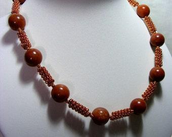 Red Adventurine Necklace
