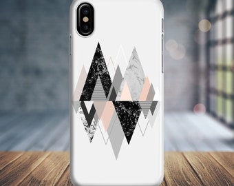 iphone x case iphone 8 plus case iphone 8 case iphone 7 plus case iphone 7 case iphone 6 plus phone case triangle geometric 0050