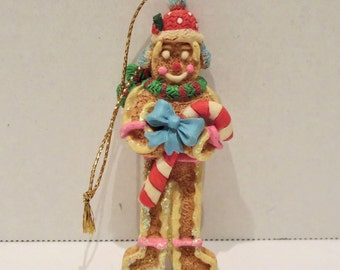 Resin Gingerbread Man Ornament