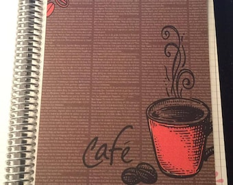DASHBOARD Coffee Cafe Collection for use with Erin Condren or Happy Planner