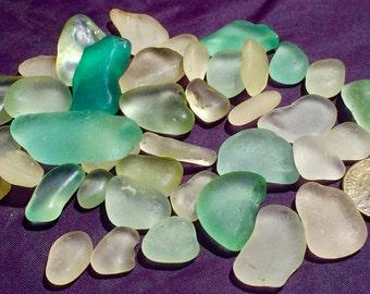 Sea Glass or Beach Glass of Hawaii beaches  SALE! BLUE! AQUA! Seafoam! Only 30 dollars! Bulk Sea Glass! Sea Glass Bulk! Seaglass!