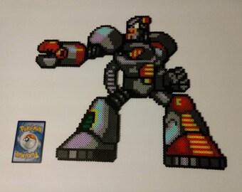 Junk Man Perler Bead Pixel Art
