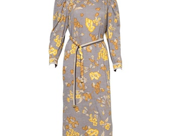 Leonard Printed Dress 1970s