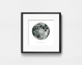 La Luna | 8x8 | 10x10 | 12x12