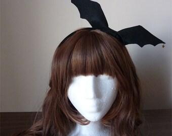 Bat Wing Bow Headband