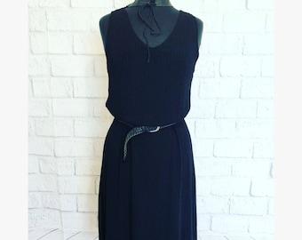90s vintage little black dress