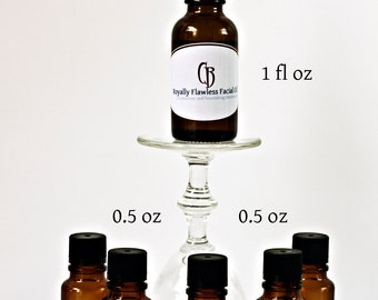 1/2 oz - Royally Flawless Facial Moisturizer, Face Oil  - With Recipe