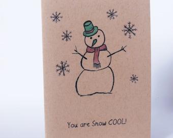 Christmas Card - Snow Cool