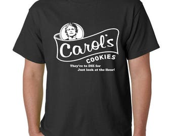 Carol's Cookies Walking Dead Funny Zombie T-Shirt -Halloween Night of the Living