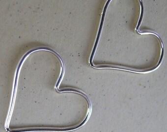 Sterling Silver Heart Frame