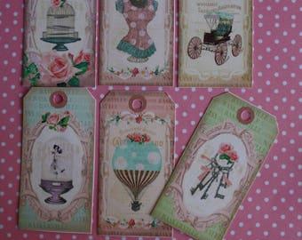Set of 12 vintage assorted patterns