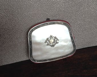Delicate antique mother of pearl coin purse
