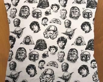 Star Wars Heads throw pillow