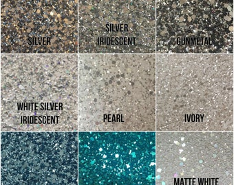 Glitter Fabric for crafts 135cm by 50cm sheet/ roll