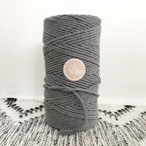 GREY ASH Single Twist Cord 1kg