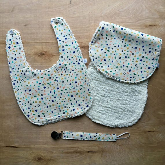 Flotsame and Jetsam Bib Gift Set