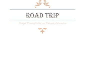road trip expense planner