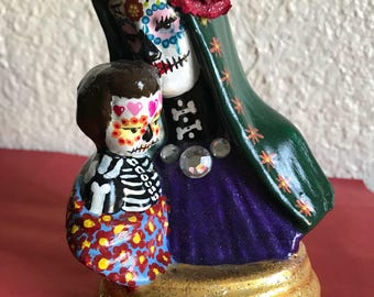 Day of the dead Madonna and Child