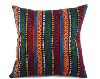 Turkish pillow cover, 20x20, Ethnic pillow, Red throw pillow, Decorative pillow, Accent pillow, Couch cushion, Sofa pillow, Red pillow