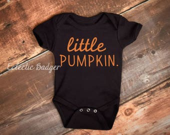 Baby boy fall outfit Little pumpkin baby Halloween baby clothes, Fall baby boy clothes, baby gift, fall baby girl clothes, baby shirt