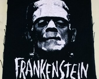 FRANKENSTEIN patch goth horror punk classic  monsters Free Shipping