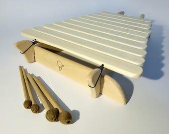 "Musical instrument - BALAFON ""ASPEN E"" +  Extra Mallets"