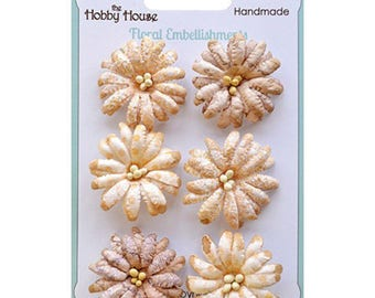 Boutique Paper Flowers - Daisies Cream