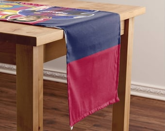 FC Barcelona Rectangular Table Runner