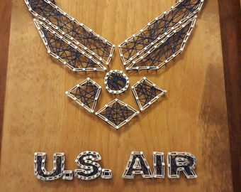 United States Air Force String Art