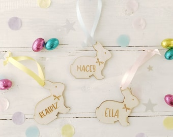 Easter gift ideas etsy easter bunny rabbit decoration wooden personalised easter gift ideas negle Gallery