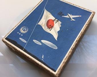 1930s vintage Japanese stationary set - rice paper envelopes