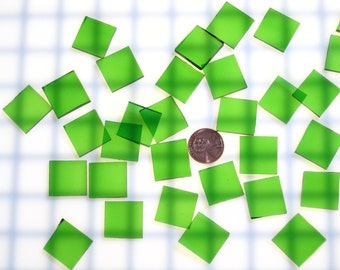 Light Green Waterglass Mosaic Tile