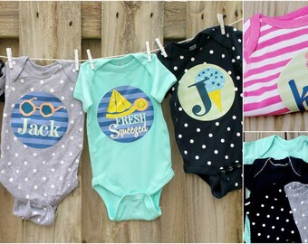 Personalized Baby Bodysuits!