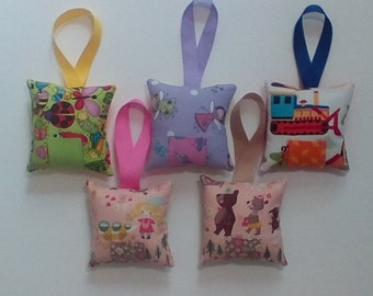 Tooth Fairy Pillow, Tooth Fairy Visit, Child Gift, Trucks, Goldilocks, Bears, Bugs